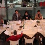 La giuria al lavoro: Lucisano, Pignataro, Nicoletta Gargiulo, Marianna Vitale e di spalle Arcangelo Dandini. Fuori campo: Mariella Caputo e Rosanna Marziale