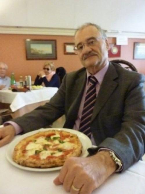 Antonio Pace e la sua Pizza d'Oro