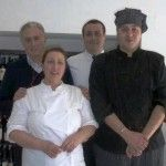 lo Staff: Antonella Rossi, suo marito Corrado, il figlio Giuseppe e il nipote Carlo