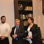Dario Tornatore, Giulio Somma e Loriana Abbruzzetti
