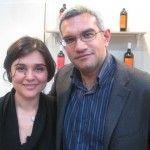 Mimmo Gagliardi con Simona Labarbuta