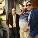 Gianni, Salvatore senior e Salvatore Grasso, titolari di Gorizia - foto di Monica Piscitelli