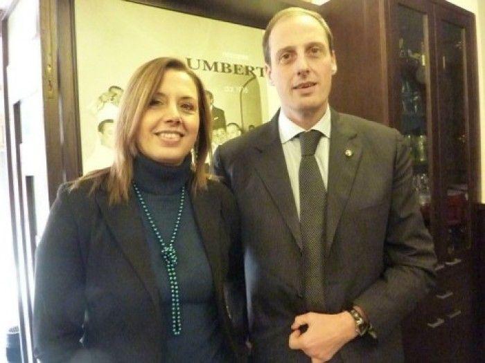 Lorella e Massimo di Porzio che con la sorella Roberta sono Umberto