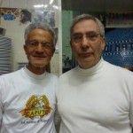 Nunzio Cacialli con il socio Enzo Giuliano - foto di Monica Piscitelli www.campaniachevai.it
