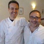 Giovanni Ascione con lo chef Renato Martino - Foto Monica Piscitelli www.campaniachevai.it