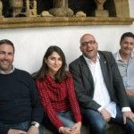 Da sx: Renato De Bartoli, Josephine De Bartoli, Carmelo Corona, Sebastiano De Bartoli
