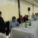 Da sinistra: Maria Sarnataro, Luigi Maffini, Peppino Pagano, Pasquale Mitrano, Betty Iuorio e Bruno De Conciliis