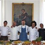 Gli chef, foto di gruppo