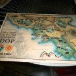 la mappa della mozzarella di bufala campana dop