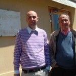 Raffaele Barlotti con il padre