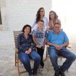 da sx... Isa, Vito,Nicole, Chiara e Domenico Pinto