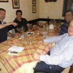 Con Libero Rillo, Pasquale Carlo e Nicola Venditti