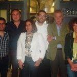 da sinistra, Manuel Lombardi, Raffaele Pagano, Paola Riccio, Giuseppe Iannotti, Antonio Lucidano, Marcella Savastano