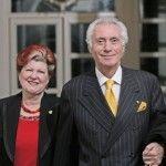 Annie Feolde e Giorgio Pinchiorri