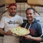 Pizzeria La Napoletana. Vincenzo Scotto di Minico e Filippo Garofalo