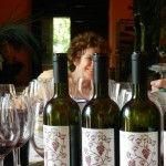 Silvia Imparato e le quattro annate del pranzo: 2003, 2008, 2009 e 2010 (Franco Martino)