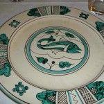 Casa Tuscia, uno dei piatti in ceramica artigianale