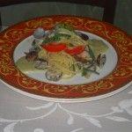 Spaghettoni al ragù bianco di vongole