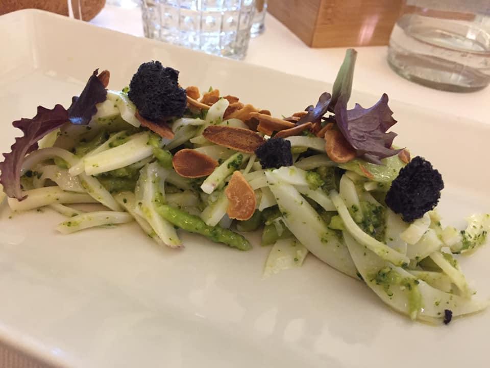 La Bettola del Gusto, seppia all'insalata con broccoletti
