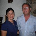 Alfonso Longo con Cristina (Foto Diodato Buonor)