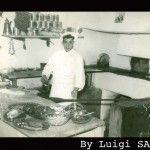 Antonio Staiano, pizzaiolo da Gemma. Capri 1964