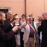 Birra Nursia, il brindisi inaugurale con il sindaco e il vescovo