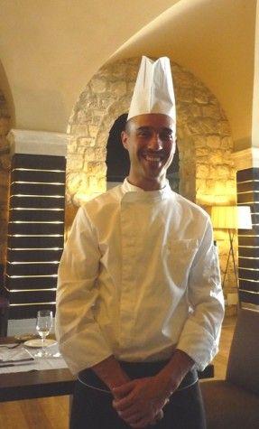 Il giovane chef Luciano Villani