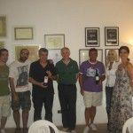 Paolo Perinelli, Pasquale Pace, Terry Savo, Roberto Muzi , Marcello e Sabrina