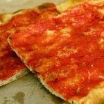 Pizza rossa alla romana