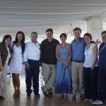 Da sinistra: Novella talamo, Maria sarnataro, Teresa Mincione, Michele Romano, Luciano Pignataro, Marina Alaimo, Alberto Capasso, Sara Marte e Pasquale Carlo