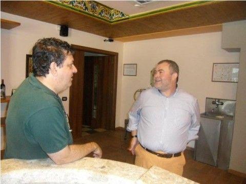 Luciano con Alfredo