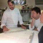 Christoph Bob con Enzo Vizzari