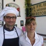 Ciro Mattera e Stafania Coletta, attuali gestori del Saturnino
