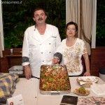 Gaetano Cerrato con la moglie Antonietta - foto di Giovanni Somma