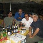 Marcello, Roberto e Massimiliano con Paolo Mazzola
