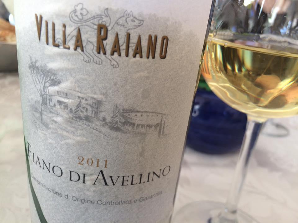 Fiano di Avellino Villa Raiano 2011