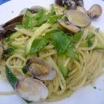 """Gli spaghettoni alle vongole del ristorante """"Capricci"""" di Anacapri"""
