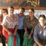 Da sinistra Benny, Maria Paola e Giuseppe con i genitori