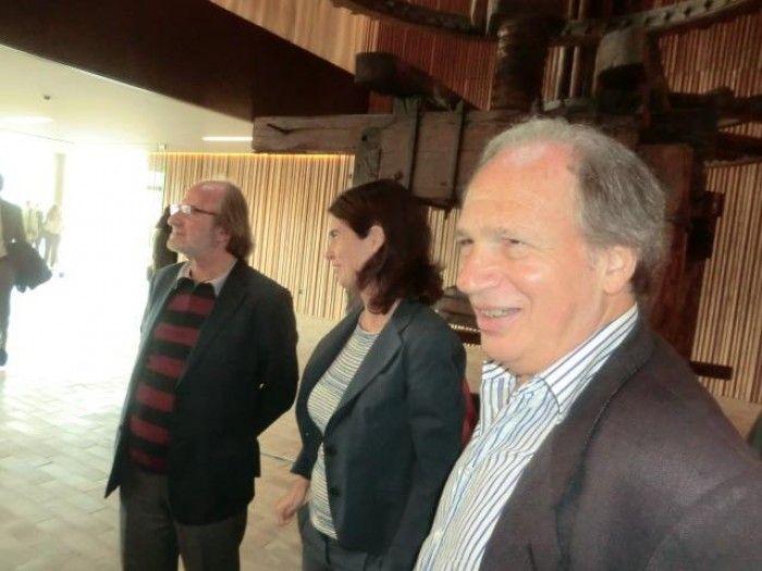 Gigi Buzzoni, Alessandra Antinori e Daniel Thomases