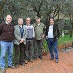 Da sinistra: Carlo Macchi, Stefano Tesi, Roberto Giuliani, Kyle Phillips e Luciano Pignataro