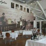 Il tema del ristorante Italia è la Bellezza. Sono tante e bellissime le opere di Modigliani esposte