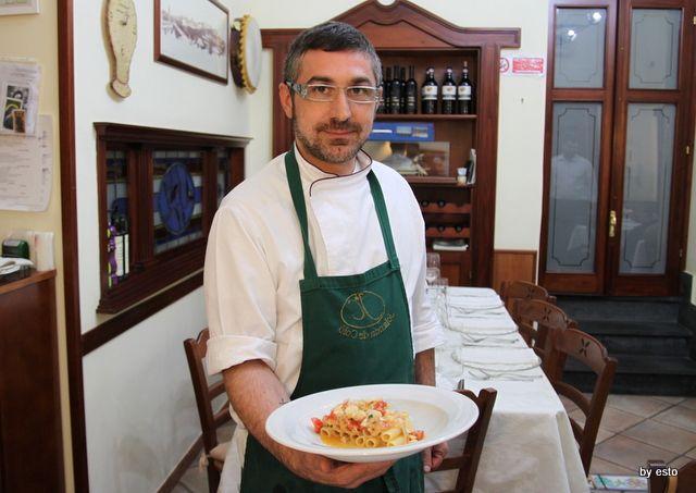 Locanda Nonna Rosa, il cuoco Enzo Nocerino