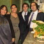 L'ultima generazione Gorizia, Fiorenza e Germana Grasso insieme ai cugini Mauro e Alessandro Perna