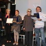 Touring Club, un momento della premiazione a Officine Farnese