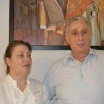 Antonella Rossi col marito  Corrado Del Gaizo