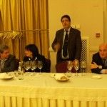 da sx Luigi Maffini, Maria Sarnataro, Luciano Pignataro e Ferdinando Cappuccio