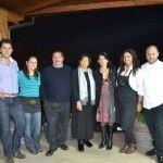 La famiglia Sorrentino con Marina Alaimo e lo chef Eduardo Estatico
