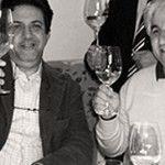 Con Enzo Crivella, compagno di bevute del cuore
