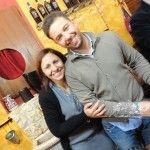 Marilena ed il fratello Antonio