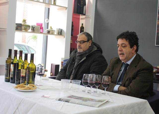 Luciano con Nicola Matarazzo
